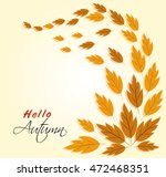 illustration for autumn and... | Shutterstock . vector #472468351