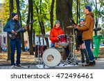 Music Street Performers With...