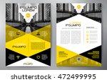 business brochure flyer design... | Shutterstock .eps vector #472499995