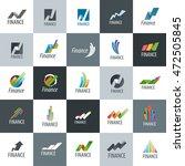 vector logo finance | Shutterstock .eps vector #472505845