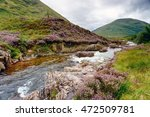 The River Coe As It Flows Over...