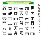 Vector Furniture Flat Icons ...
