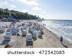 kolobrzeg   august 15  tourists ... | Shutterstock . vector #472542085