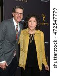 Small photo of LOS ANGELES - AUG 22: Bob Bergen, Lily Tomlin at the Television Academy's Performers Peer Group Celebration at the Montage Hotel on August 22, 2016 in Beverly Hills, CA