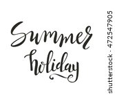 typographic summer inscription. ... | Shutterstock .eps vector #472547905