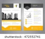 vector modern brochure with... | Shutterstock .eps vector #472552741