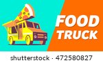food truck | Shutterstock .eps vector #472580827