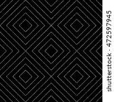 geometric silver seamless... | Shutterstock .eps vector #472597945