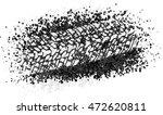 vector trail design trace of... | Shutterstock .eps vector #472620811
