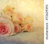 fresh roses flowers | Shutterstock . vector #472629391