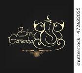 beautiful   creative line art... | Shutterstock .eps vector #472632025