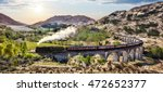 glenfinnan railway viaduct in... | Shutterstock . vector #472652377