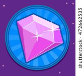booster crystal icon for mobile ...