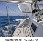 View From Luxurious Sailboat...