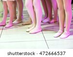 close up of feet in children's... | Shutterstock . vector #472666537