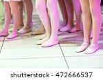close up of feet in children's... | Shutterstock . vector #472666537