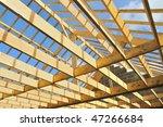 Wood House Skeleton