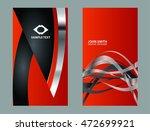 business card background set  | Shutterstock .eps vector #472699921