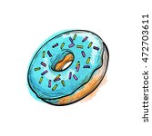 hand drawn vector illustration... | Shutterstock .eps vector #472703611