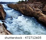 Fast Flowing Narmada River...