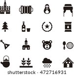 russia icons | Shutterstock .eps vector #472716931