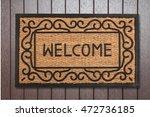 doormat. | Shutterstock . vector #472736185