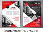 business brochure flyer design... | Shutterstock .eps vector #472752841