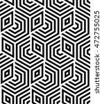 vector seamless texture. modern ... | Shutterstock .eps vector #472755025