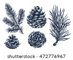 hand drawn rustic design vector ... | Shutterstock .eps vector #472776967