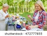 fresh strawberries   Shutterstock . vector #472777855
