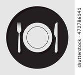 information icon   dark circle... | Shutterstock .eps vector #472786141