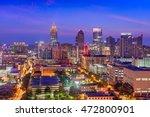 midtown atlanta skyline | Shutterstock . vector #472800901