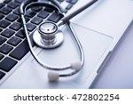 medical concept selective focus ... | Shutterstock . vector #472802254
