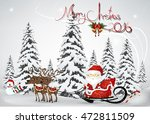 christmas background. abstract... | Shutterstock .eps vector #472811509