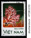 Small photo of VIETNAM - CIRCA 1987: A stamp printed in Vietnam shows Alcyone, circa 1987