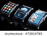 modern technology  object and... | Shutterstock . vector #472814785