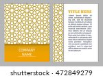 cards collection  delicate... | Shutterstock .eps vector #472849279
