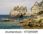 corfu island   view from the... | Shutterstock . vector #47285089
