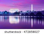 Washington Dc  Usa Skyline On...