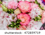 Flower Market  Bright Vivid...
