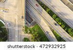 top view of an asphalt elevated ... | Shutterstock . vector #472932925