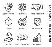 social responsibility outline... | Shutterstock .eps vector #472936981