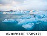 Icebergs In Jokulsarlon