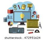 online business ideas ... | Shutterstock . vector #472951624