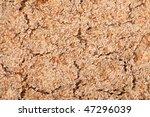texture of crispbread - stock photo