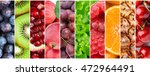 fruits. fresh food background.... | Shutterstock . vector #472964491