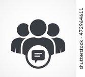 user group icon. management...   Shutterstock .eps vector #472964611