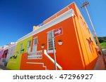 historic cape town suburb in bo ... | Shutterstock . vector #47296927