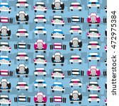 seamless patter with cars. can... | Shutterstock .eps vector #472975384