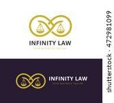 law firm logo law office ... | Shutterstock .eps vector #472981099